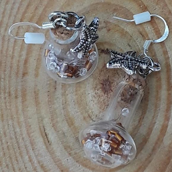 Fairy Tale Jewelry Jewelry - Ocean Floor - dangle earrings